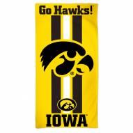 Iowa Hawkeyes McArthur Beach Towel