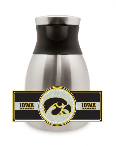 Iowa Hawkeyes Medium Stainless Steel Coffee Pot