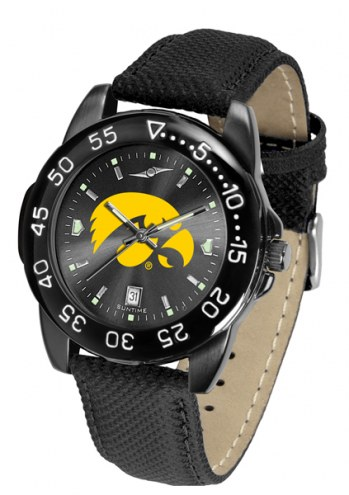 Iowa Hawkeyes Men's Fantom Bandit AnoChrome Watch
