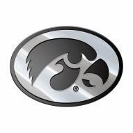 Iowa Hawkeyes Metal Car Emblem