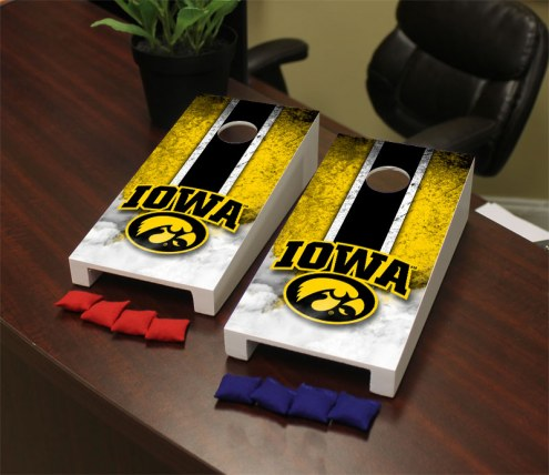 Iowa Hawkeyes Mini Cornhole Set