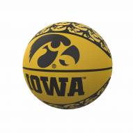 Iowa Hawkeyes Mini Rubber Basketball