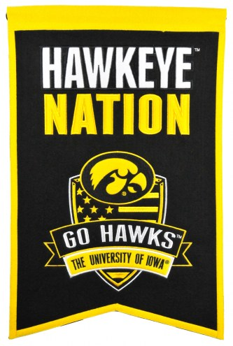 Iowa Hawkeyes Nations Banner