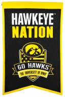 Iowa Hawkeyes Nations Banner