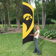 Iowa Hawkeyes NCAA Tall Team Flag