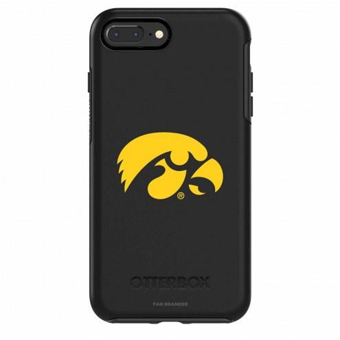 Iowa Hawkeyes OtterBox iPhone 8/7 Symmetry Black Case