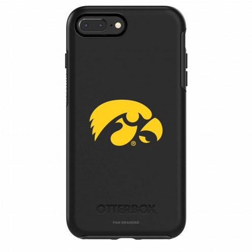Iowa Hawkeyes OtterBox iPhone 8 Plus/7 Plus Symmetry Black Case