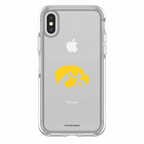 Iowa Hawkeyes OtterBox iPhone X Symmetry Clear Case
