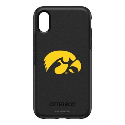Iowa Hawkeyes OtterBox iPhone XR Symmetry Black Case