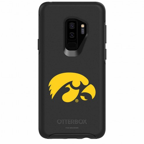 Iowa Hawkeyes OtterBox Samsung Galaxy S9+ Symmetry Black Case