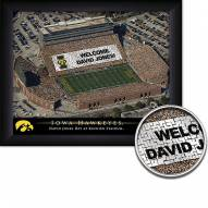 Iowa Hawkeyes 11 x 14 Personalized Framed Stadium Print