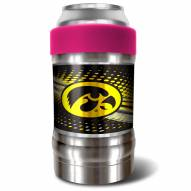 Iowa Hawkeyes Pink 12 oz. Locker Vacuum Insulated Can Holder