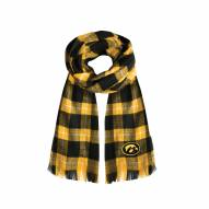 Iowa Hawkeyes Plaid Blanket Scarf