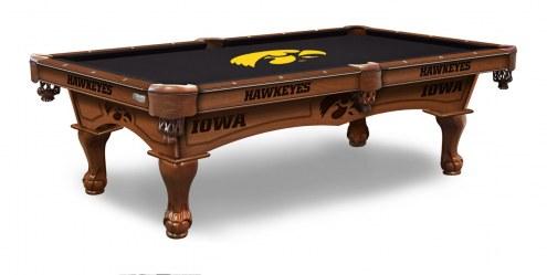Iowa Hawkeyes Pool Table