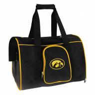 Iowa Hawkeyes Premium Pet Carrier Bag