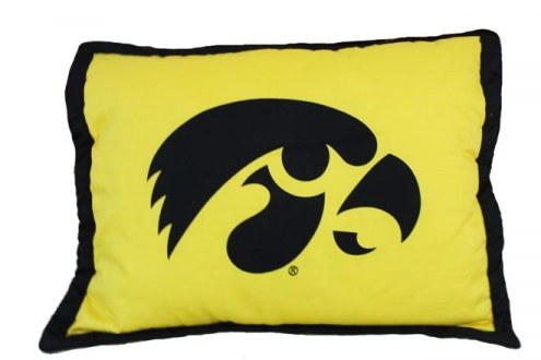 Iowa Hawkeyes Printed Pillow Sham