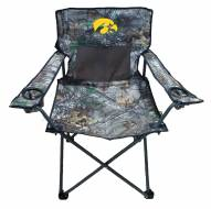 Iowa Hawkeyes RealTree Camo Tailgating Chair
