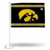 Iowa Hawkeyes Car Flag
