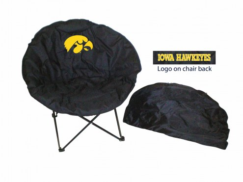 Iowa Hawkeyes Rivalry Round Chair