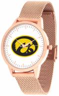 Iowa Hawkeyes Rose Mesh Statement Watch