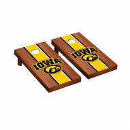 Iowa Hawkeyes Rosewood Stained Cornhole Game Set