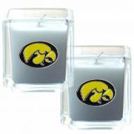 Iowa Hawkeyes Scented Candle Set
