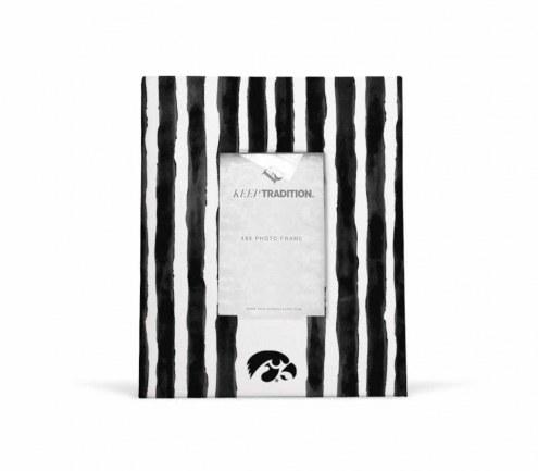 Iowa Hawkeyes School Stripes Picture Frame