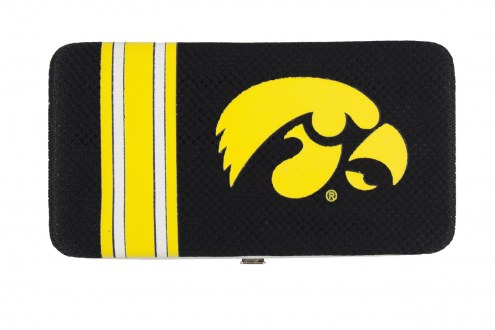 Iowa Hawkeyes Shell Mesh Wallet