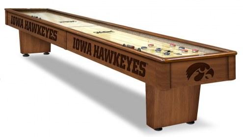 Iowa Hawkeyes Shuffleboard Table