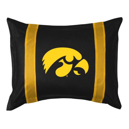 Iowa Hawkeyes Sidelines Pillow Sham