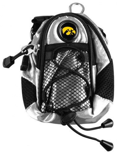 Iowa Hawkeyes Silver Mini Day Pack