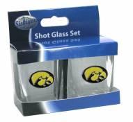 Iowa Hawkeyes Shot Glass Set