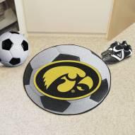 Iowa Hawkeyes Soccer Ball Mat