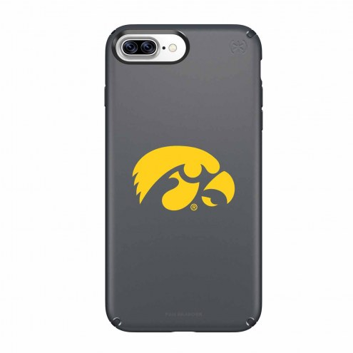 Iowa Hawkeyes Speck iPhone 8 Plus/7 Plus Presidio Black Case