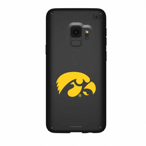 Iowa Hawkeyes Speck Samsung Galaxy S9 Presidio Black Case