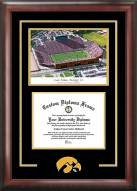 Iowa Hawkeyes Spirit Diploma Frame with Stadium Image