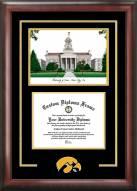 Iowa Hawkeyes Spirit Diploma Frame with Campus Image