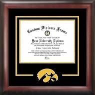 Iowa Hawkeyes Spirit Diploma Frame