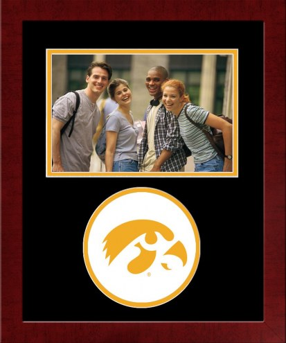 Iowa Hawkeyes Spirit Horizontal Photo Frame
