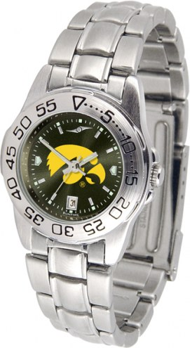 Iowa Hawkeyes Sport Steel AnoChrome Women's Watch