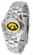 Iowa Hawkeyes Sport Steel Women's Watch