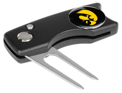 Iowa Hawkeyes Spring Action Golf Divot Tool