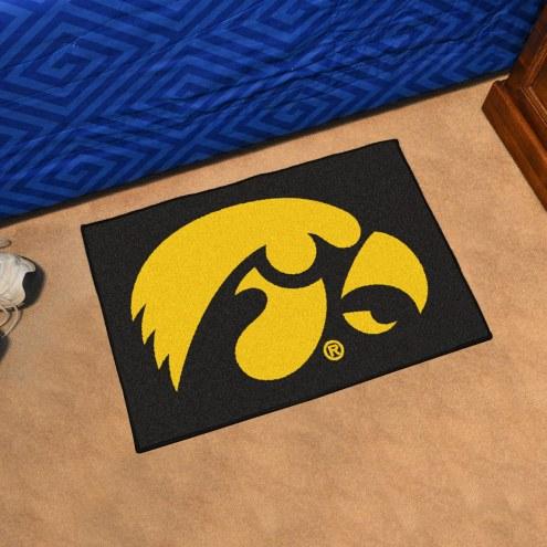 Iowa Hawkeyes Starter Rug