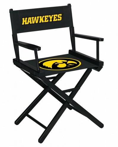 Iowa Hawkeyes Table Height Director's Chair