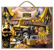 Iowa Hawkeyes Tailgate Plaque