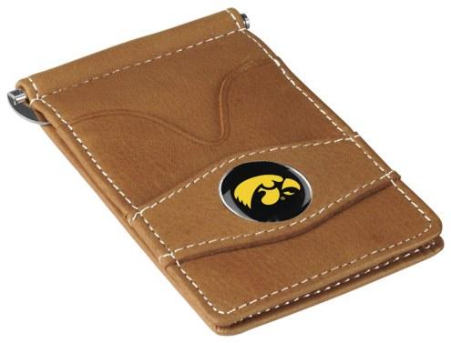 Iowa Hawkeyes Tan Player's Wallet