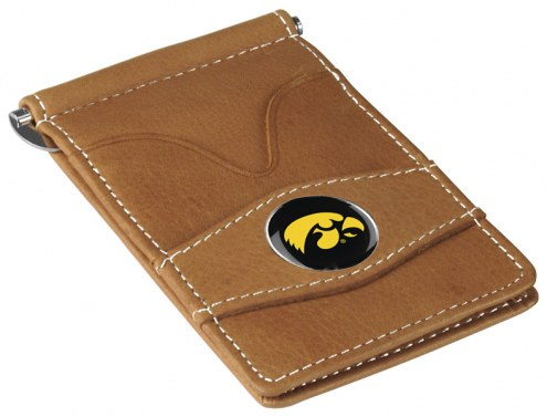 Iowa Hawkeyes Tan Player's Wallet