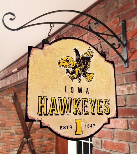Iowa Hawkeyes Tavern Sign