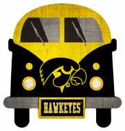 Iowa Hawkeyes Team Bus Sign