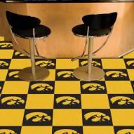 Iowa Hawkeyes Team Carpet Tiles